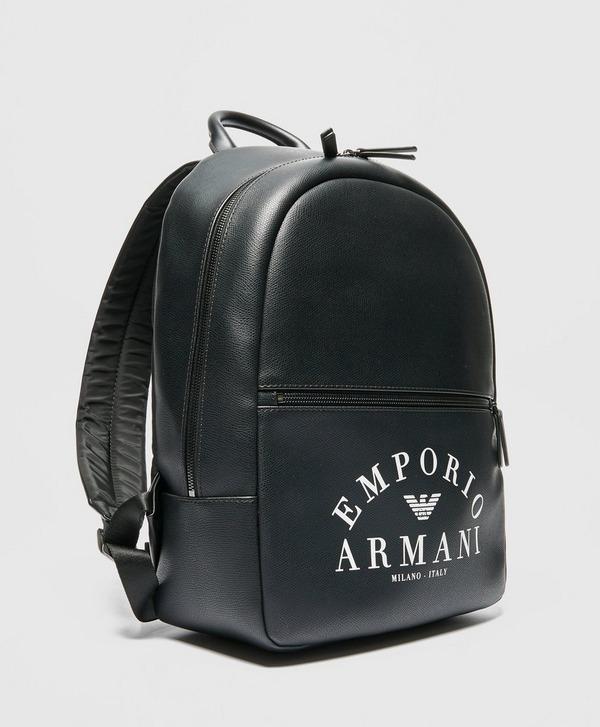Emporio Armani Bold Logo Backpack