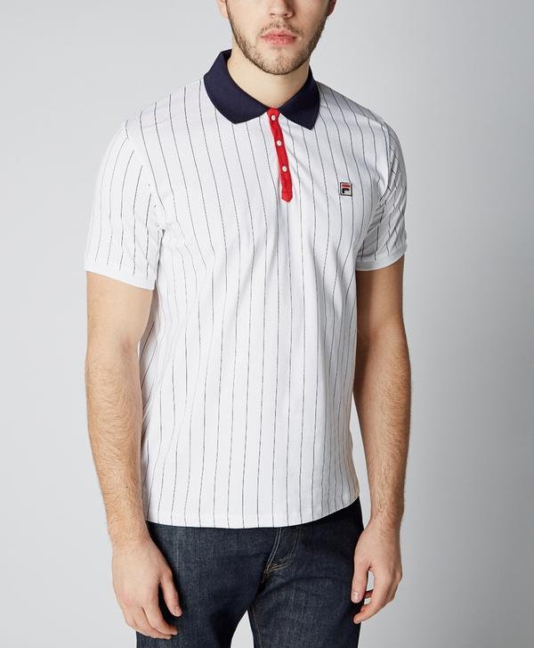 90739bf4b3 Fila BB1 Striped Polo Shirt | scotts Menswear