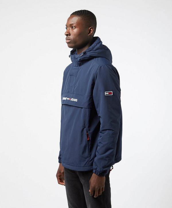 Tommy Jeans Padded Popover Half Zip Jacket