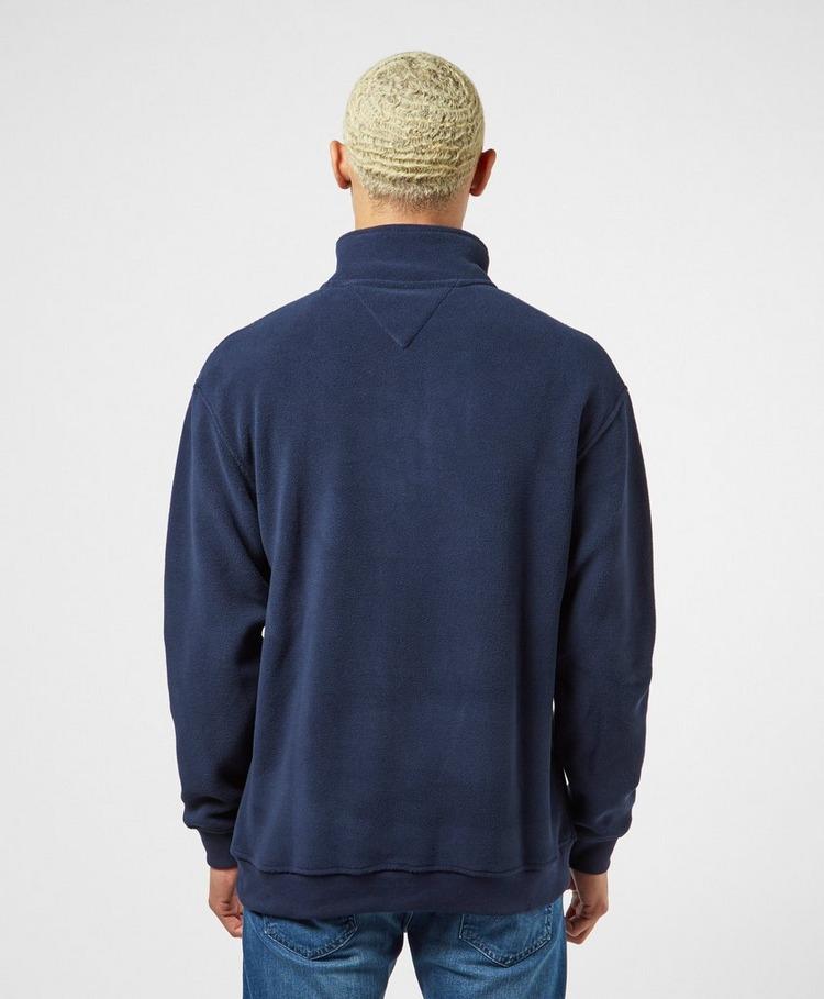 Tommy Jeans Polar Fleece Half Zip Mock Sweatshirt