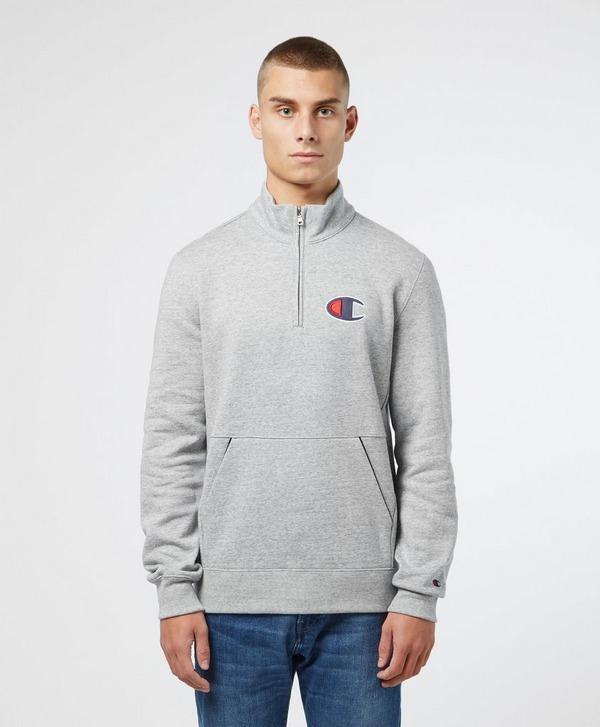 Champion Rochester C Logo Half Zip Sweatshirt