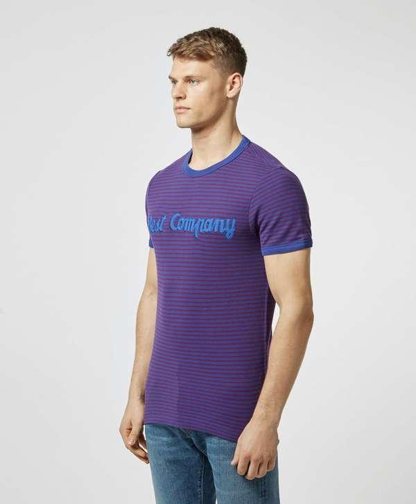 Best Company Fine Stripe Short Sleeve T-Shirt