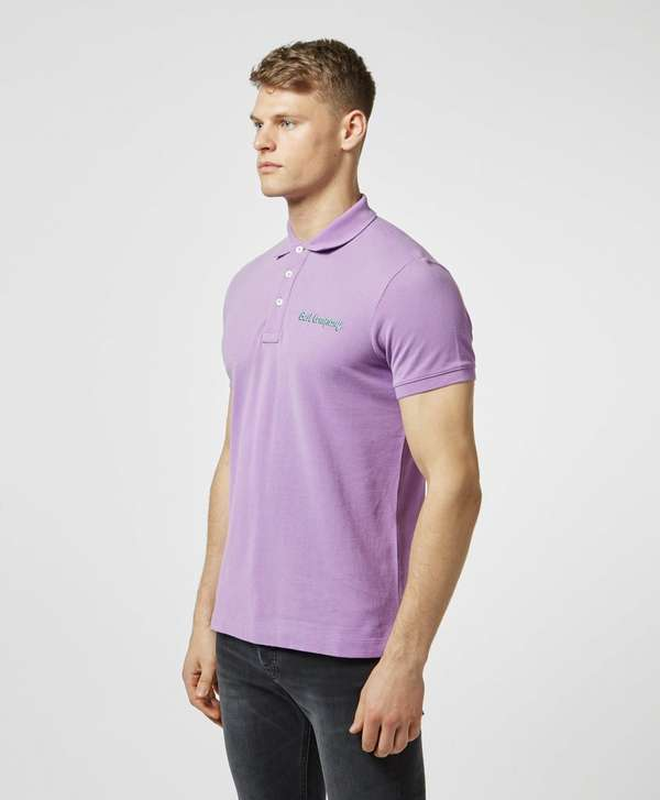 Best Company Pique Short Sleeve Polo Shirt