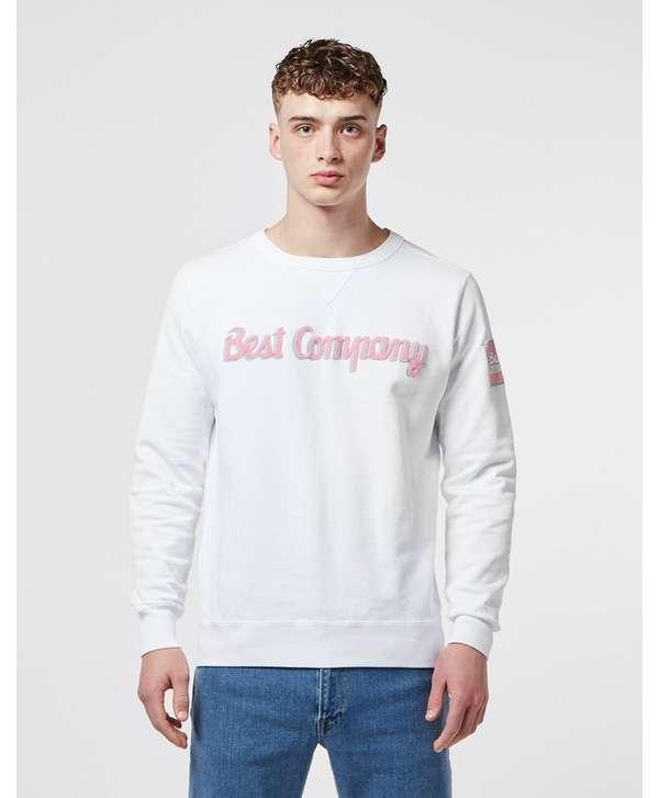 Best Company Logo Crew Sweatshirt