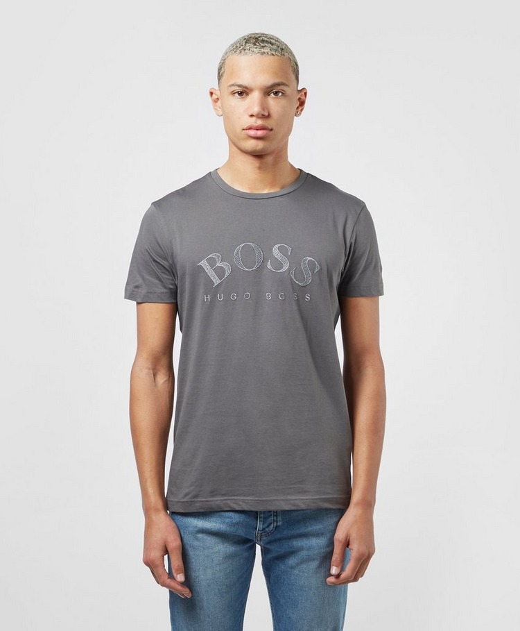BOSS Curved Logo T-Shirt