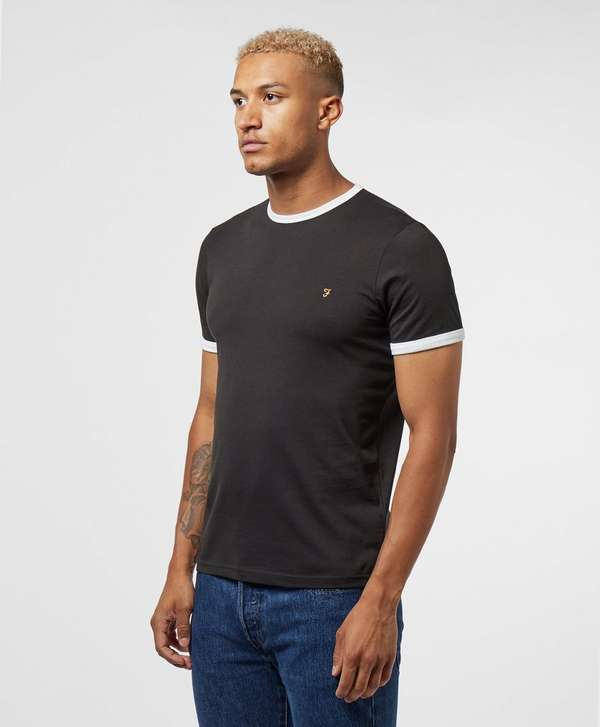 Farah Ringer Short Sleeve T-Shirt