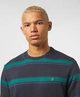Farah Beck Stripe Sweatshirt