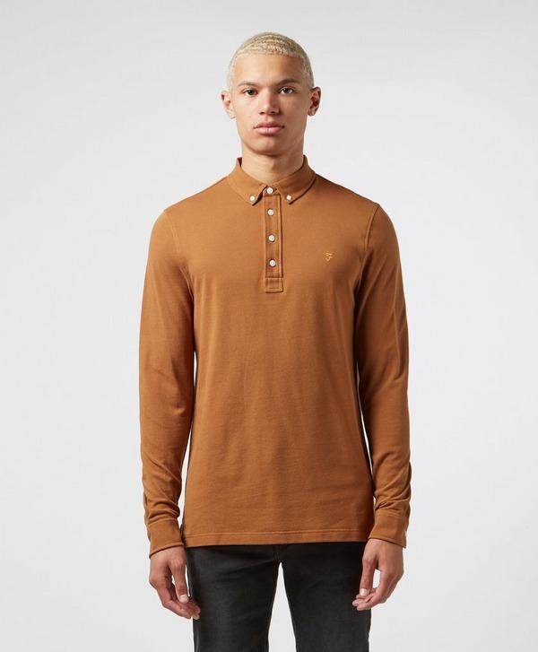 Farah Ricky Long Sleeve Polo Shirt