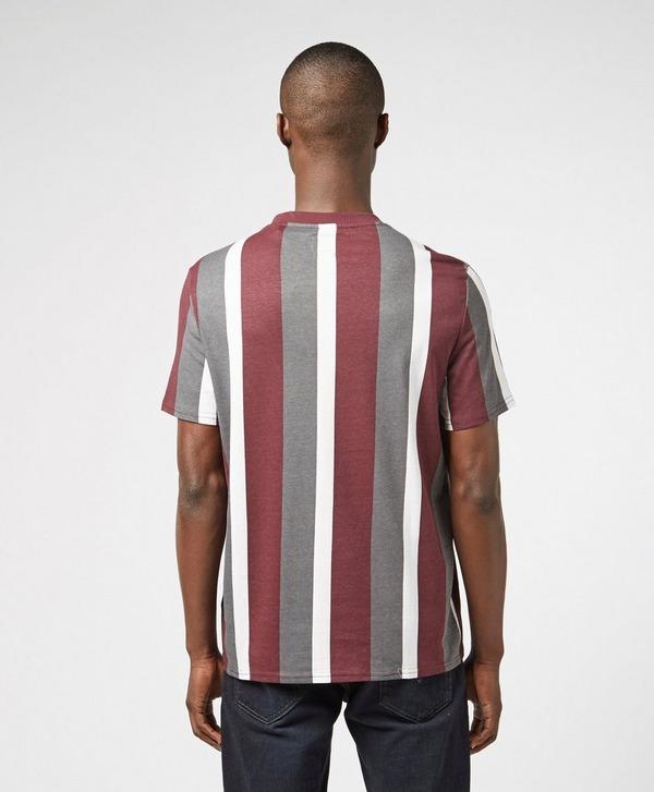 Guess Vertical Stripe Short Sleeve T-Shirt