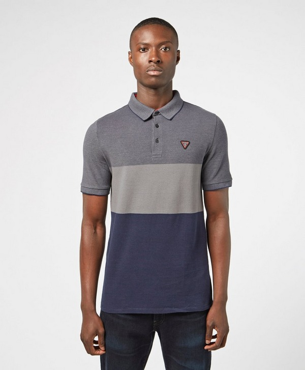 Guess Alec Block Short Sleeve Polo Shirt