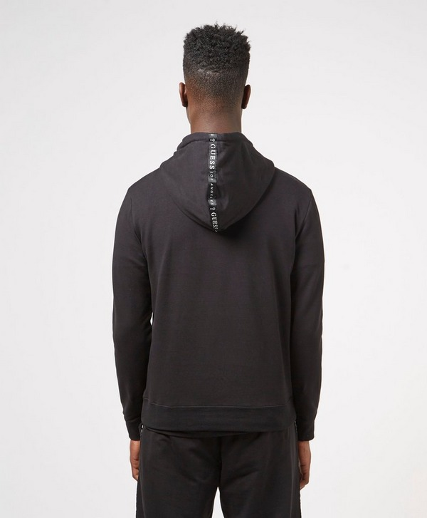 Guess Chase Tape Half Zip Hoodie