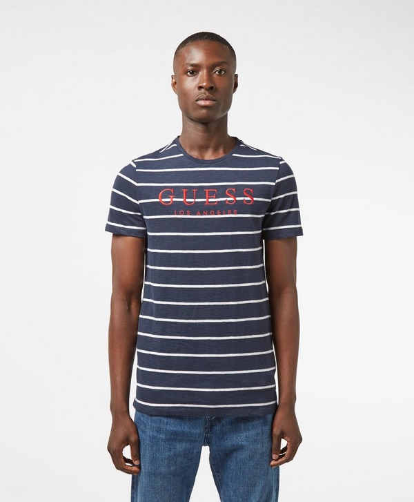 Guess Nautical Striped T-Shirt