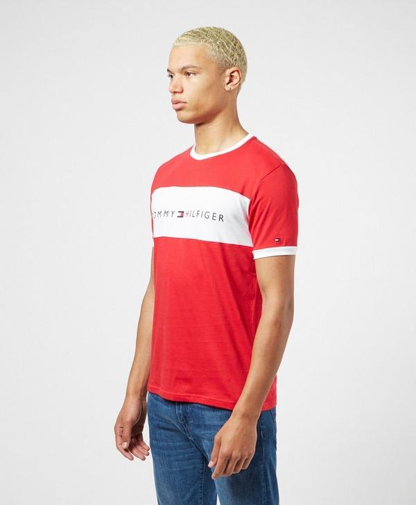 Tommy Hilfiger Cut And Sew Logo Short Sleeve T-Shirt