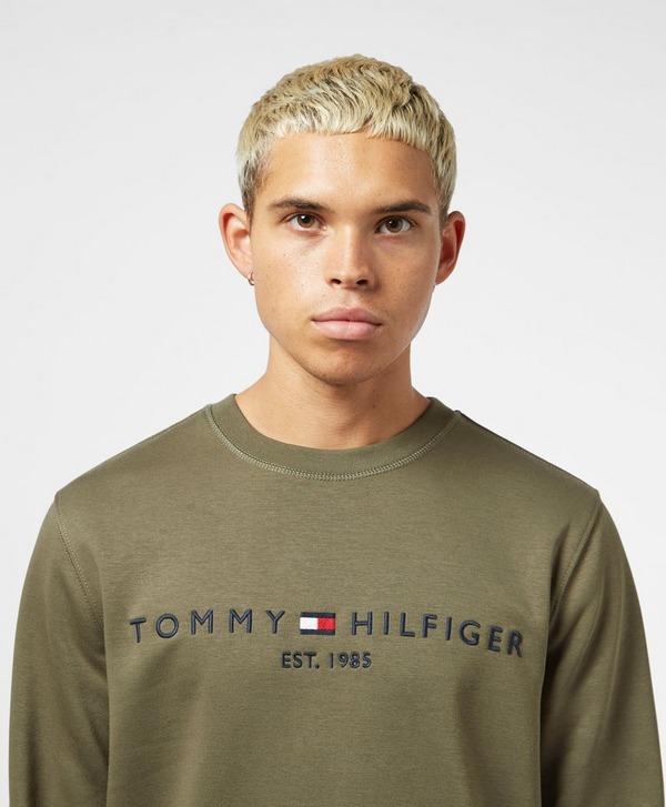 Tommy Hilfiger Flag Logo Crew Sweatshirt