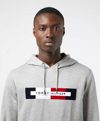 Tommy Hilfiger Box Logo Overhead Hoodie