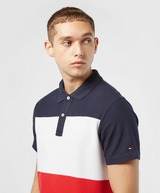 Tommy Hilfiger Colour Block Short Sleeve Polo Shirt