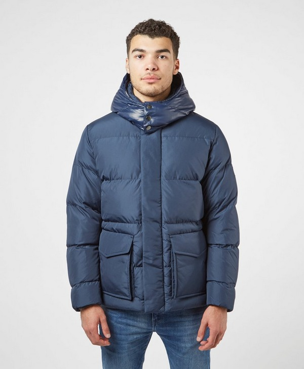 Tommy Hilfiger Hooded Padded Bomber Jacket