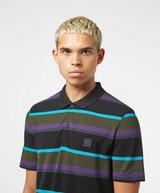 BOSS Block Stripe Short Sleeve Polo Shirt