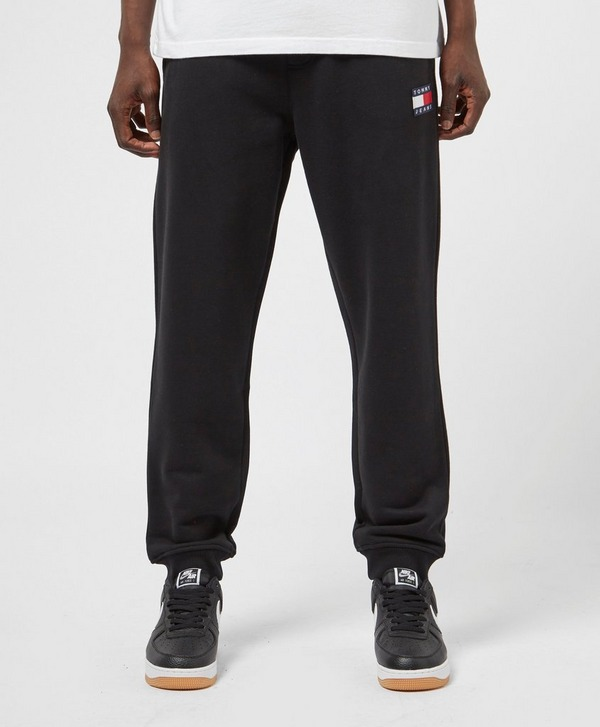 Tommy Jeans Badge Cuffed Fleece Pants