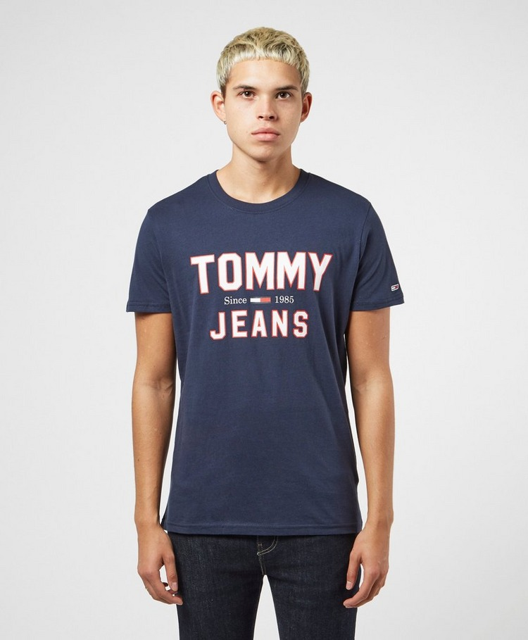 Tommy Jeans 1985 College Logo Short Sleeve T-Shirt