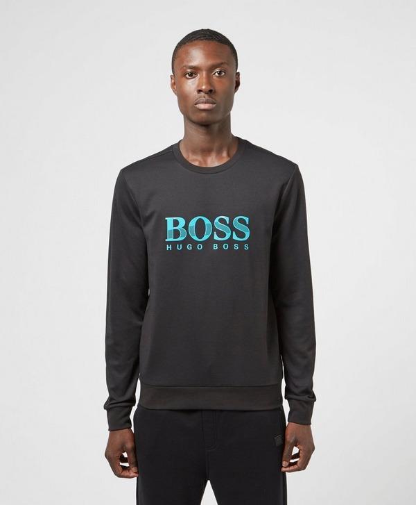 BOSS Logo Crew Sweatshirt
