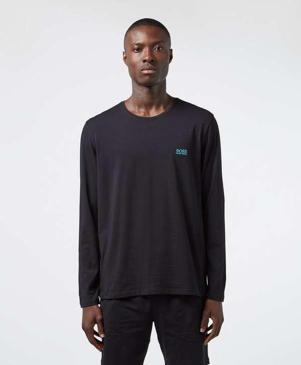 BOSS Basic Logo Long Sleeve T-Shirt