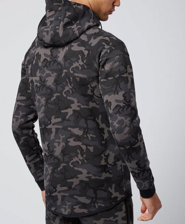 754eb5f3e5fec Nike Tech Camo Fleece Windrunner Hoody   scotts Menswear