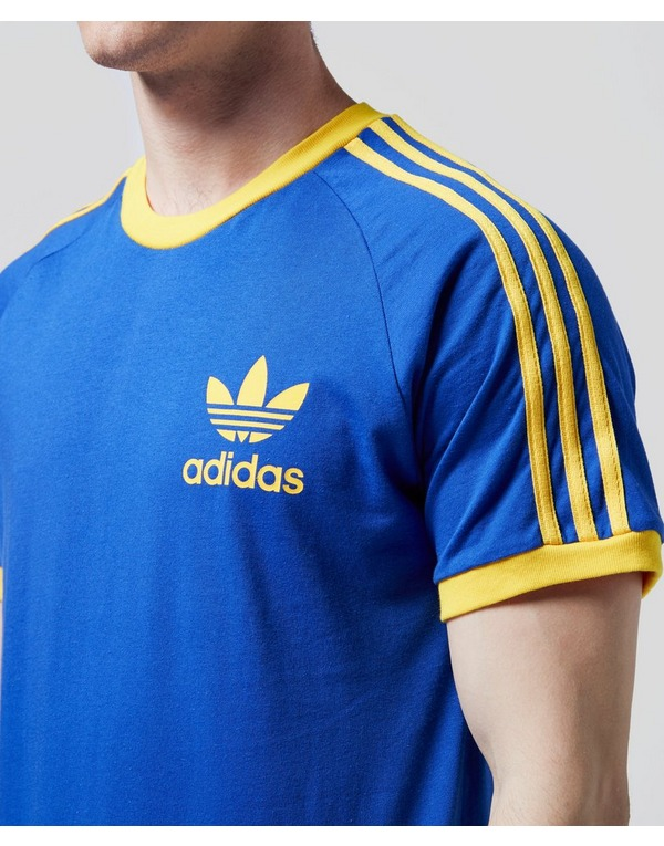 calidad estable estilos de moda última tecnología adidas Originals California Short Sleeve T-Shirt | scotts Menswear