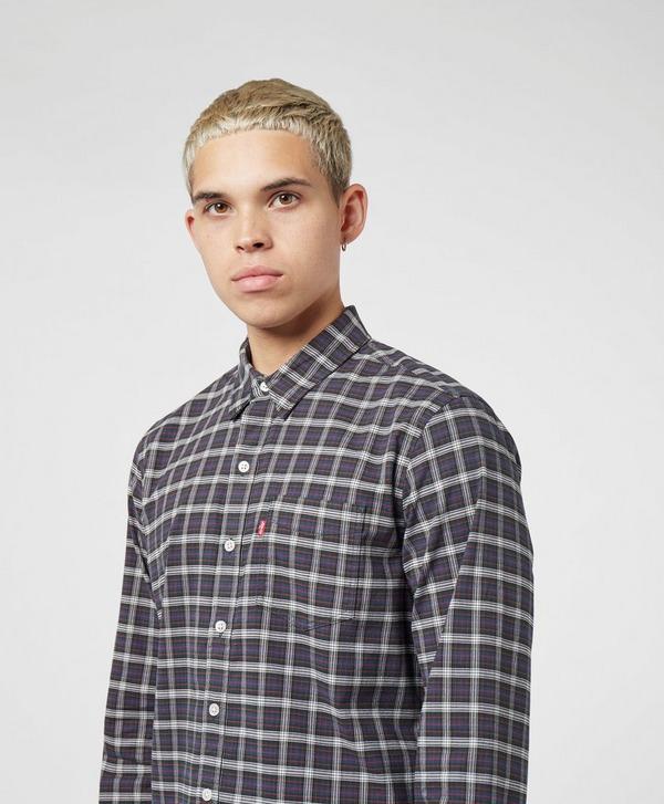 Levis Sunset Pocket Long Sleeve Check Shirt