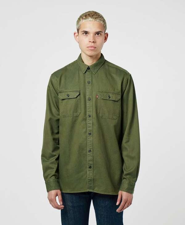 Levis Jackson Long Sleeve Overshirt