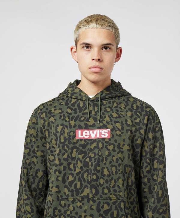 Levis Leopard Print Overhead Hoodie