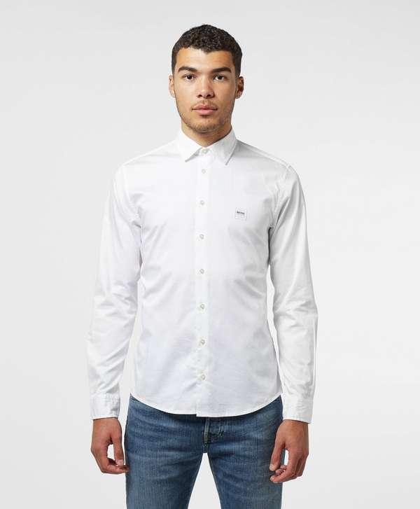 BOSS Poplin Long Sleeve Shirt