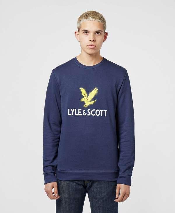 Lyle & Scott Large Logo Crew Sweatshirt