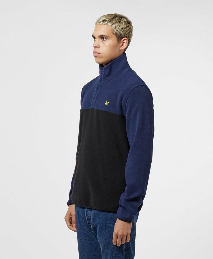 Lyle & Scott Microfleece Half Zip Sweatshirt