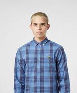 Lyle & Scott Poplin Check Long Sleeve Shirt