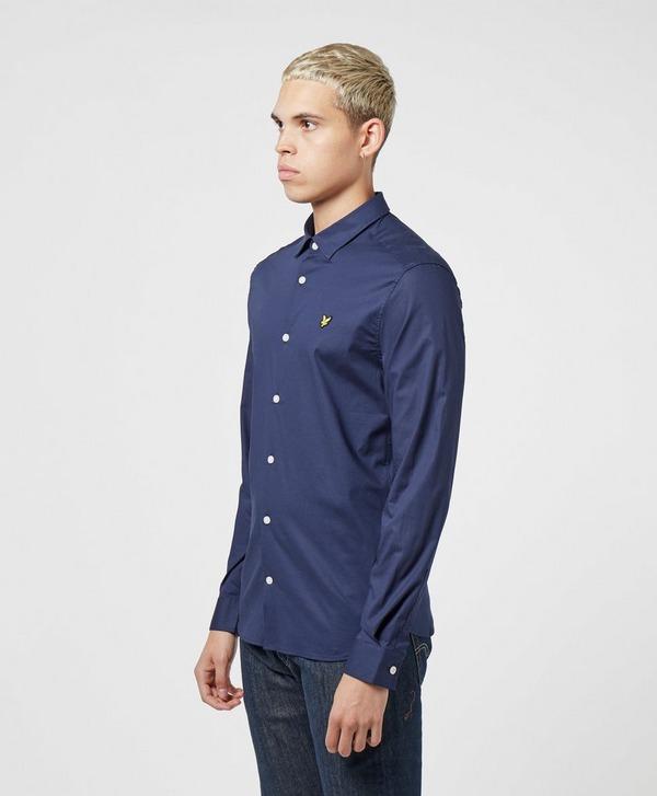 Lyle & Scott Plain Poplin Long Sleeve Shirt