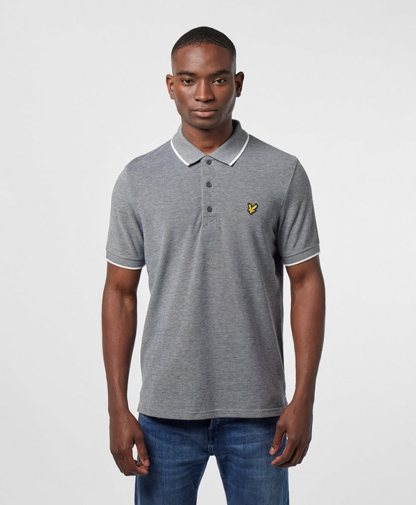 Lyle & Scott Oxford Tipped Short Sleeve Polo Shirt