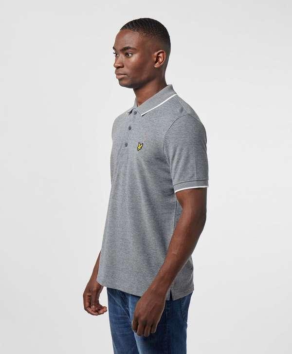 Lyle & Scott Oxford Tipped Short Sleeve Polo Shirt