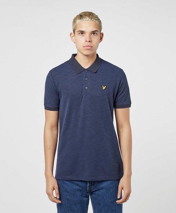Lyle & Scott Space Dye Short Sleeve Polo Shirt
