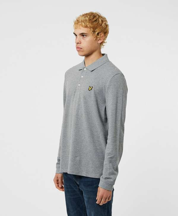 Lyle & Scott Basic Long Sleeve Polo Shirt