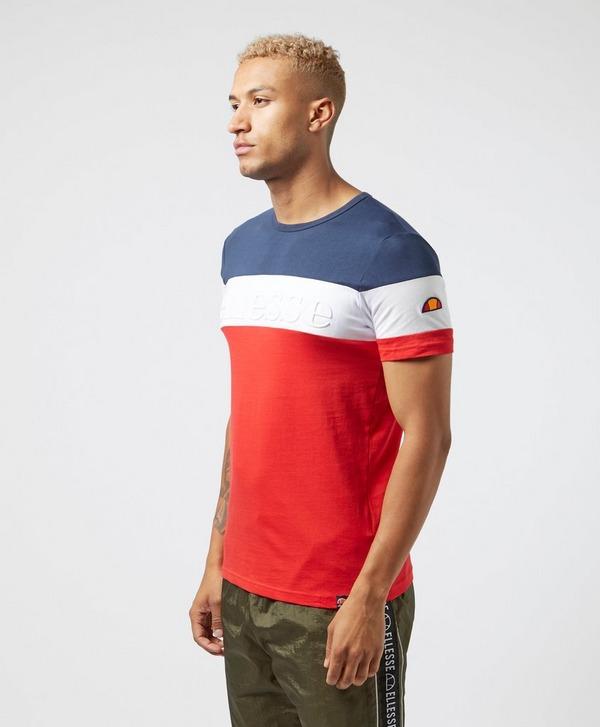 Ellesse Classic Panel Short Sleeve T-Shirt