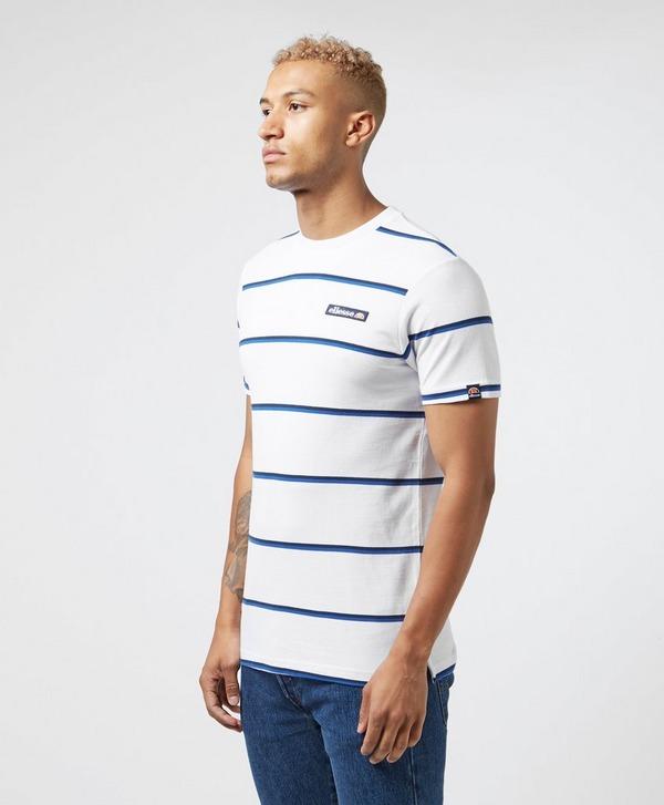 Ellesse Mezzo Stripe Short Sleeve T-Shirt