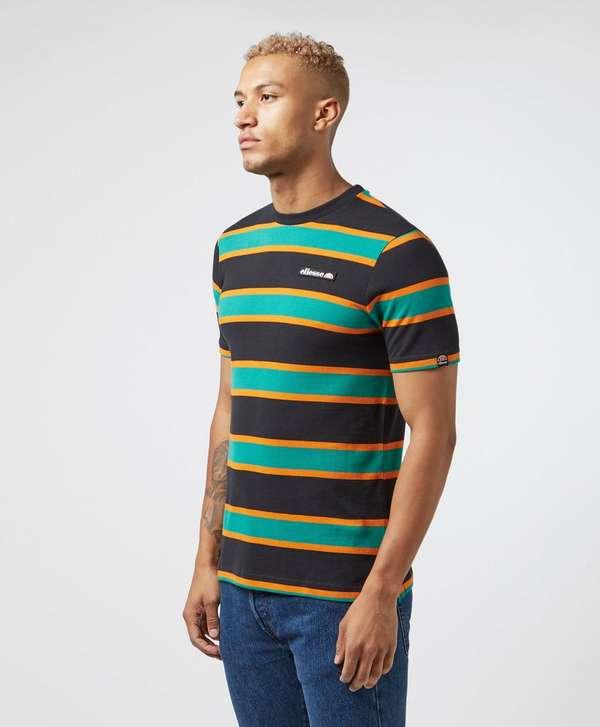 Ellesse Small Logo Stripe Short Sleeve T-Shirt