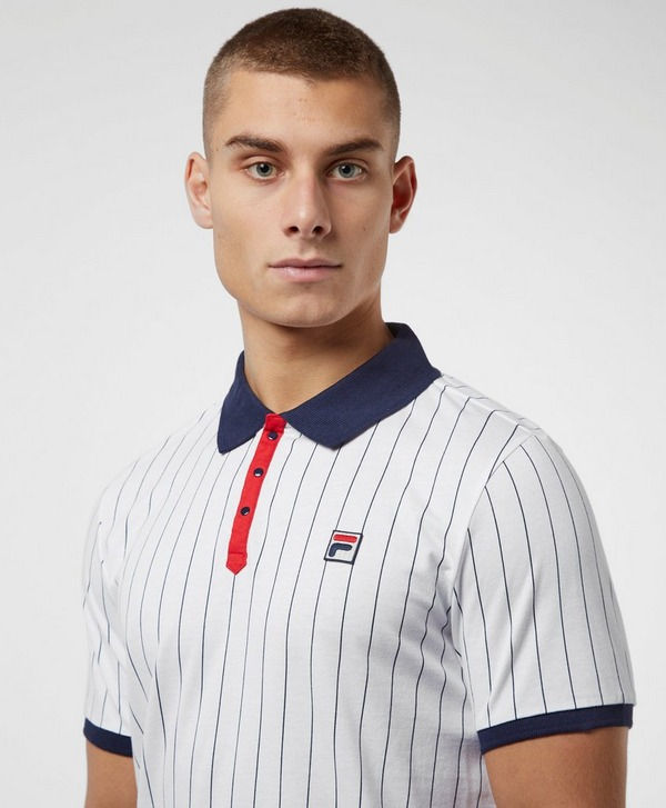 Fila Baseball Short Sleeve Polo Shirt