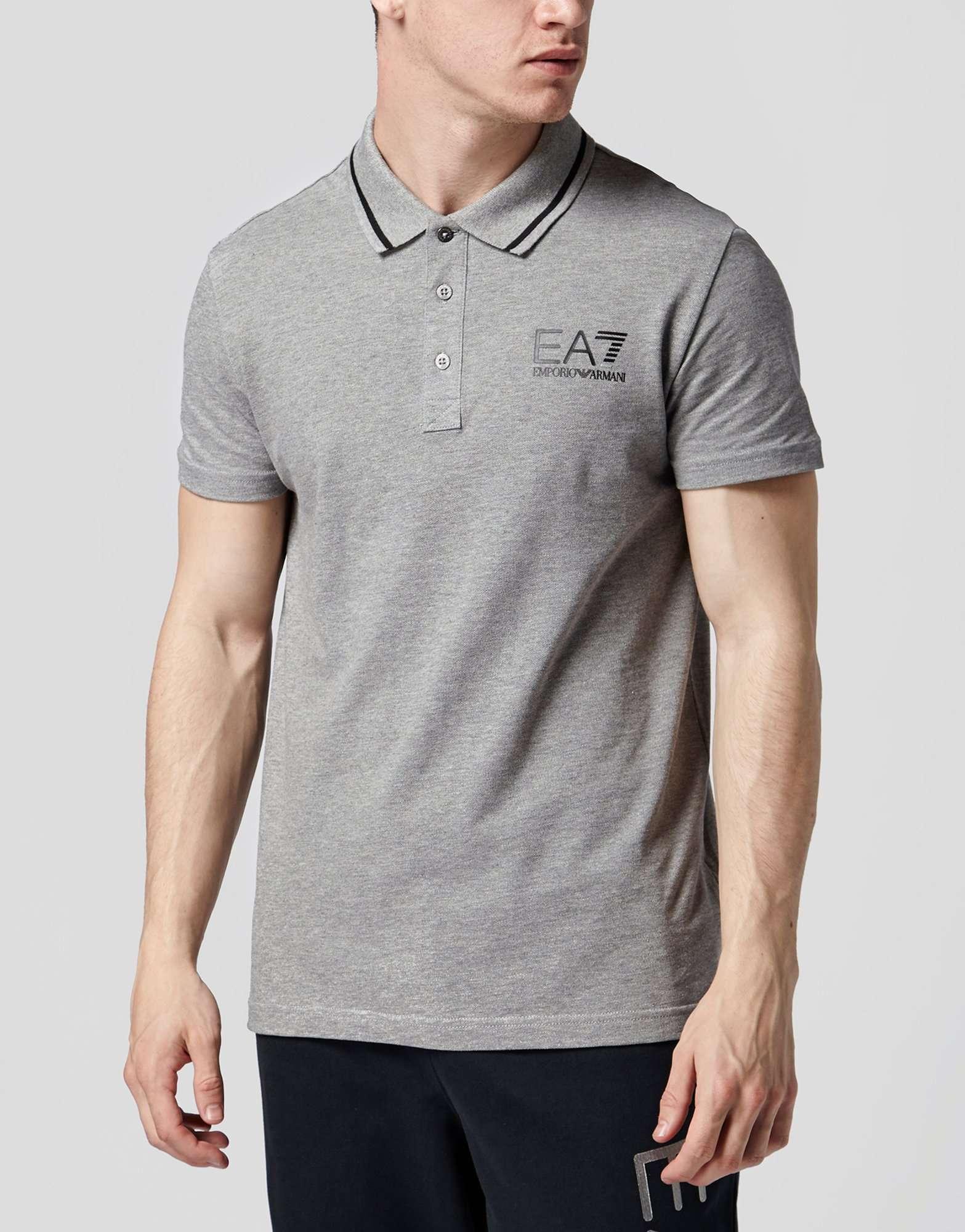5ee630dd Emporio Armani EA7 Core ID Pique Polo Shirt | scotts Menswear