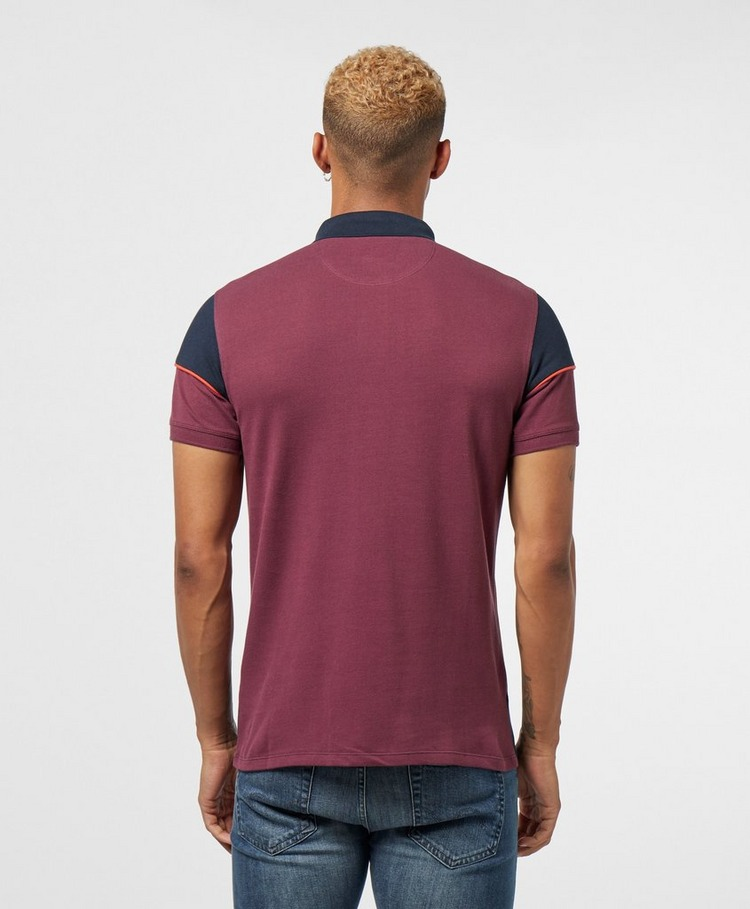 Barbour International Block Short Sleeve Polo Shirt