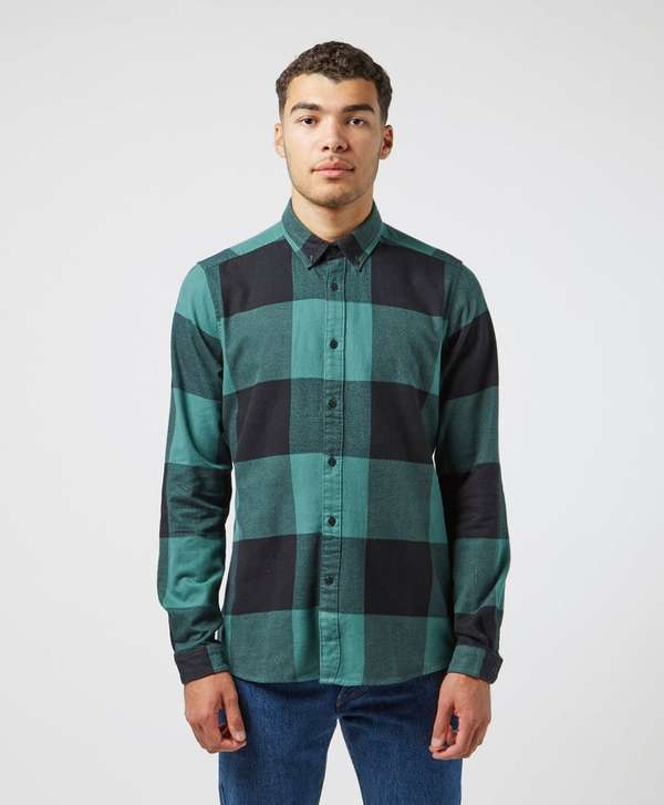 Barbour International Large Gingham Long Sleeve Shirt
