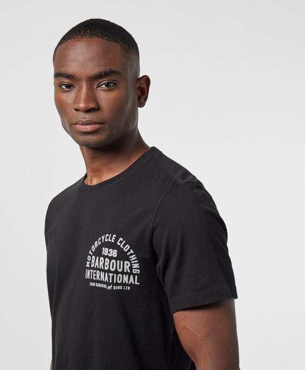 Barbour International Wayback Short Sleeve T-Shirt