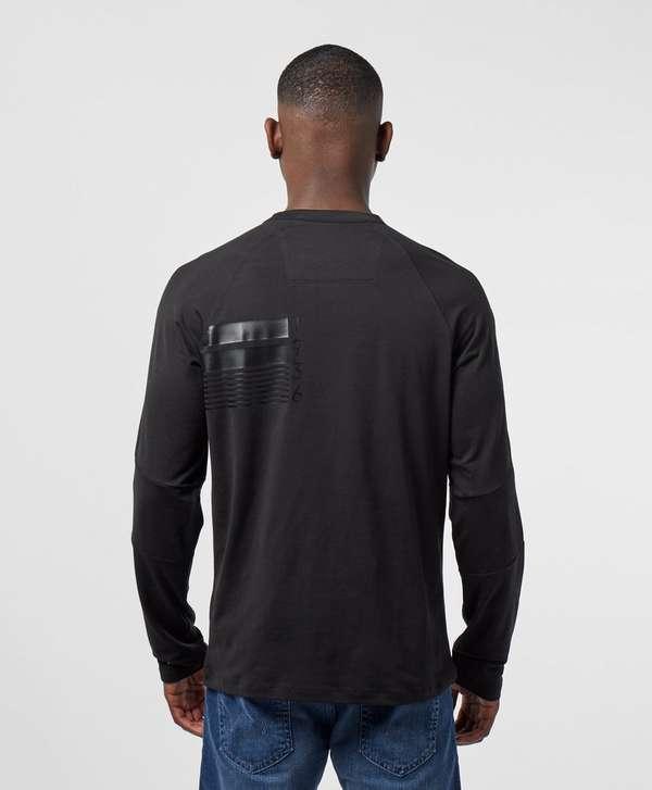 Barbour International Tonal Print Long Sleeve T-Shirt