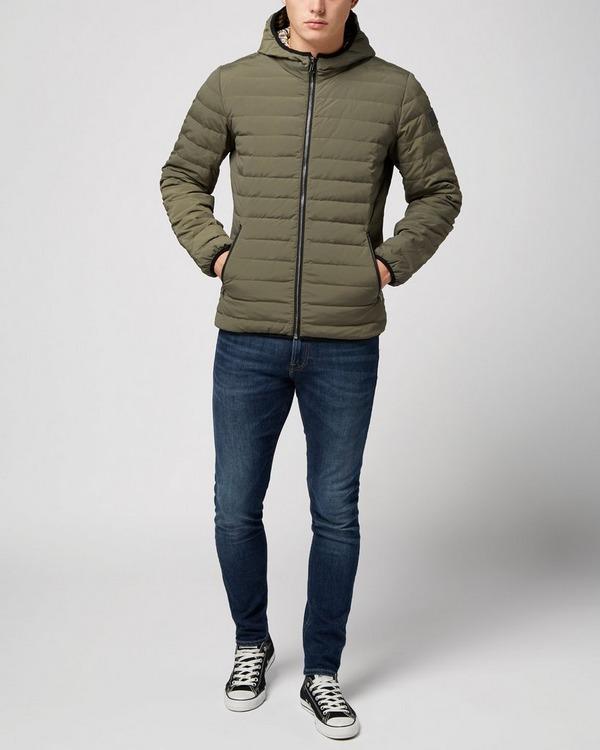 aquascutum paine down filled jacket